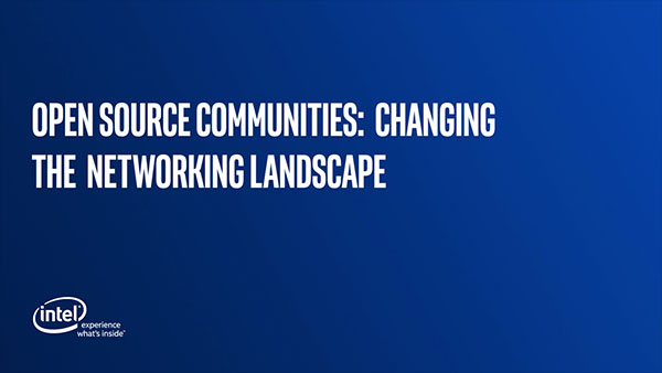 Open Source Communities: Changing the Networking Landscape