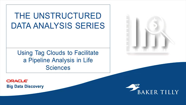 Baker Tilly: Unstructured Data Analysis Series: External Forum Data Tutorial