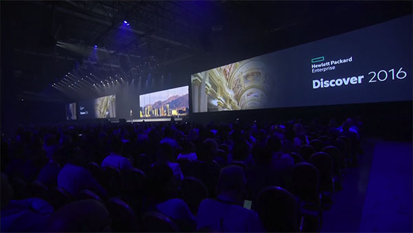 HPE Discover 2016 Las Vegas – General Session Highlights Day 1