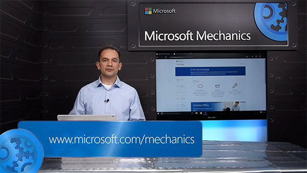 Microsoft Mechanics: Introducing Microsoft IT Pro Cloud Essentials