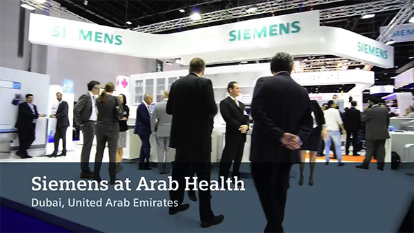 Siemens Healthcare at Arab Health 2016
